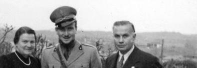 Eugenio Corti e i genitori
