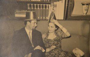 Eugenio e Vanda Corti nel 1952