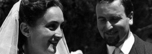 Eugenio e Vanda Corti nel 1951